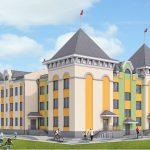 На территории жилого комплекса начато строительство муниципального детского сада